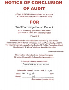 Notice of Conclusion of Audit-page-001